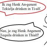 Naam verkeerd uitgesproken (Angenent Thialf Tequila)