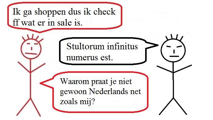 Verengelsing van de Nederlandse taal.